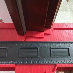 Пластиковый профиль копировальный датчик контурный датчик дубликатор Контурные весы шаблон дерево разметочный инструмент плитка ламинат