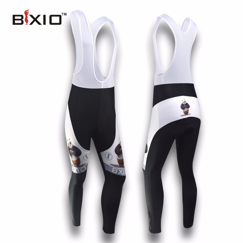 BXIO Winter Thermal Fleece Cycling Pants Autumn Pro Team UV400 Bicycle Clothing Gel Pad Windproof MTB Bike Long Warm Trousers 81
