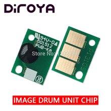 60 шт. DR-512 DR512 изображения чип для Konica Minolta Bizhub C221 C281 C7122 C7128 C 221 281 7128 7122 454 сброс барабан картридж
