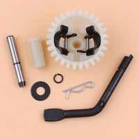 Gouverneur Getriebe Arm Welle Lock-Pin Kit Für Honda GX200 GX160 168F 5.5HP 6.5HP 2KW 3.5KW Benzin Motor Generator