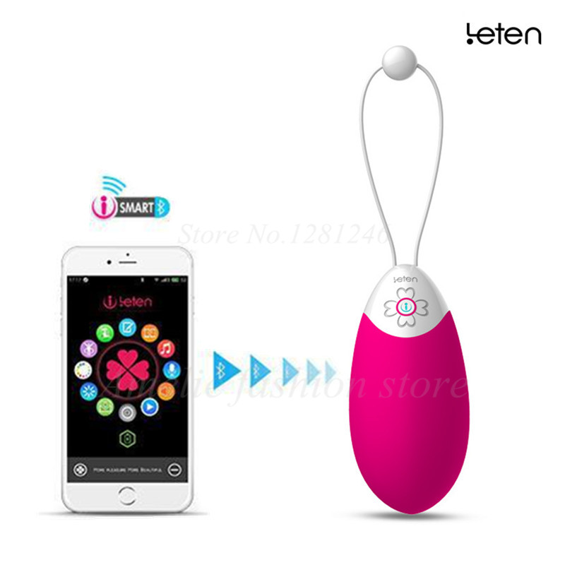 Leten Smartphone App Remote Control Cocoa Bullet Vibrators Bluetooth Connectivity Waterproof sex toys for woman t modern lustre crystal chandeliers crystal dining room lamp droplight pandent lamp led light