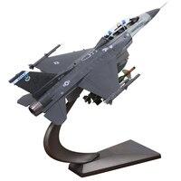 Новинка 1/72 г. Масштаб модели самолета игрушки США F 16C F16D борьба Falcon истребитель литья под давлением Металл самолета Модель игрушки для подар