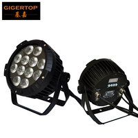 TIPTOP TP P110 12X18W Party Lights Strobe 6 Color Stage Projector Halloween Christmas RGBWA UV Led