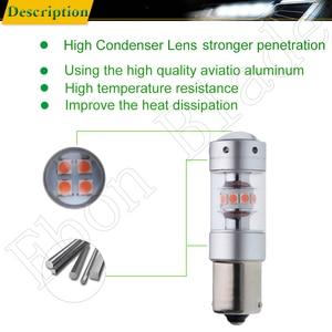 Image 4 - 1156 BA15S P21W 1157 BAY15D P21/5W Car LED Light 3030 140W Auto Brake Reverse Turn Signal DRL Bulb Lamp 12V 24V White Red Amber