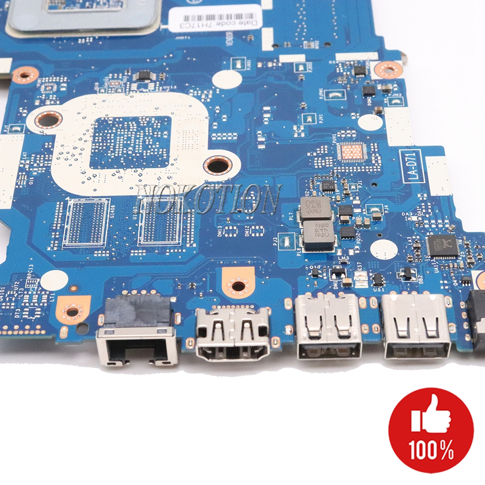 Image 3 - NOKOTION 854962 601 854962 001 Laptop Motherboard for HP 255 G5 15 BA BDL51 LA D711P 858589 601 858589 001 Main board-in Motherboards from Computer & Office