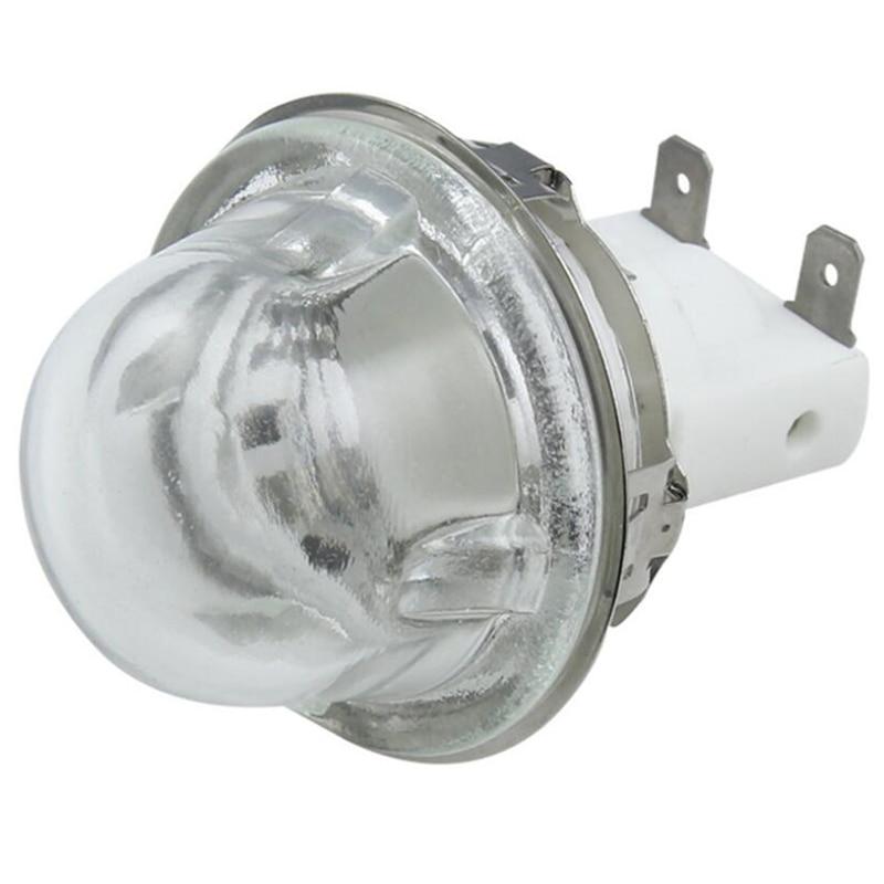 Ev Aletleri'ten Fırın Parçaları'de E14 Fırın Lambası Tutucu Pişirme 15 W/25 W Aydınlatma Lambası Tutucu Fırın Lamba Kapağı Yüksek Sıcaklık Lamba Tabanı e14 500 Derece