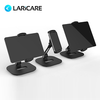 LARICARE aluminum tablet/phone stand holder champ for ipad/phone, rotatable adjustable tablet support car stand holder LD 204C