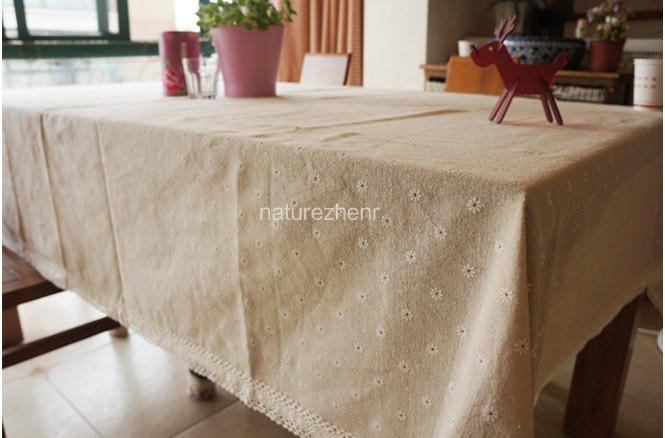 HBZ21 stofă de flori masă de margareta acoperire pânză lenjerie - Textile de uz casnic - Fotografie 4