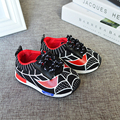 2017 NEW Season Newborn Infant Baby Shoes Soft Sole Breathable Toddler Shoes Lovely Cartoon Spiderman Sneakers Hot Prewalker