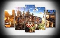 6816 bioshock infinite castle splinter light sky game Poster Framed Gallery wrap art print home wall decor wall picture