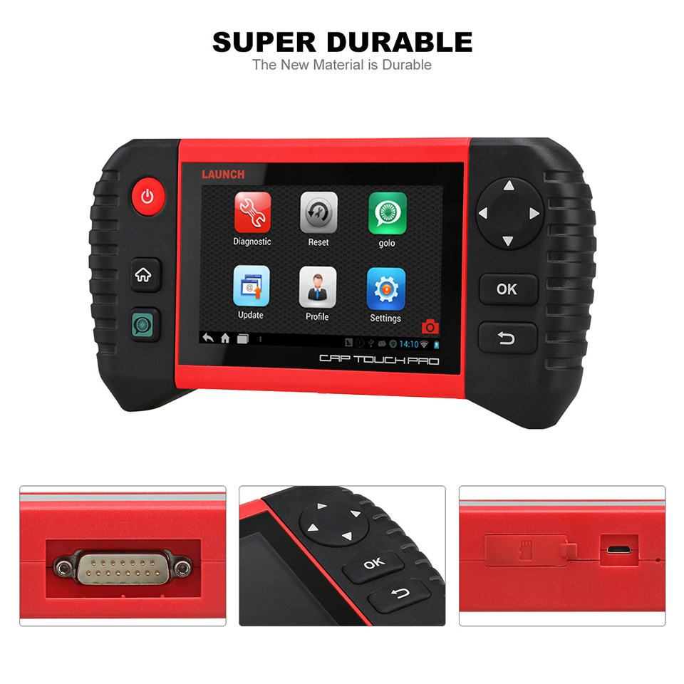Image 3 - LAUNCH Creader CRP Touch Pro Full OBDII All System Scanner WiFi Diagnostic Scan Tool SAS EPB BMS DPF Oil reset Automotive Tool