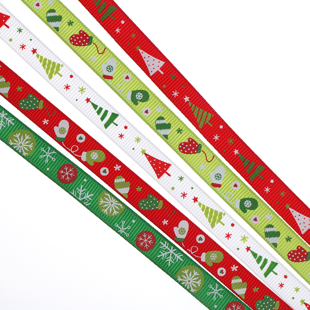 Christmas RED /& SILVER SNOWFLAKE RIBBON 25mm crafts cake decorating sewing