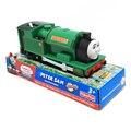 T0222 eléctrico thomas y amigo peter sam con un carro trackmaster motor motorizado chinldren niños toys con el paquete