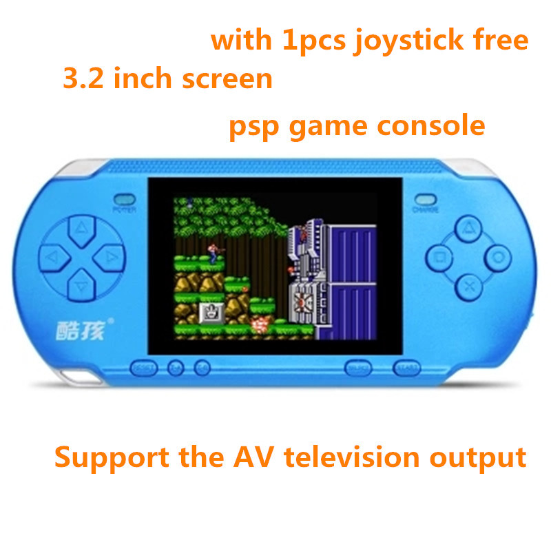 Handheld Game Console 3.2 inch Game Machine CoolBaby Built 318 Game Classic PSP Support AV Double Player with 1pcs controller