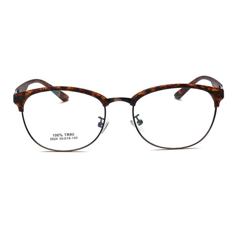 4598b4beda49a LIYUE Korean glasses women optical frame vintage 2017 Prescription eyewear  frames men Oval round metal glasses clear lens -in Eyewear Frames from  Apparel ...