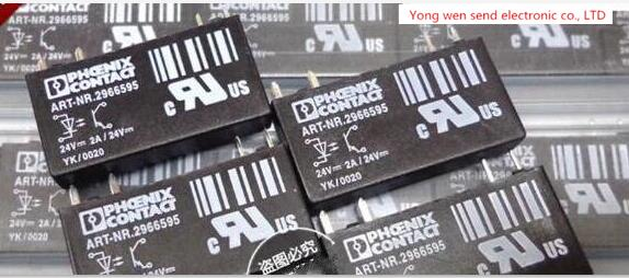 NEW Solid state relay ART-NR.2966595 ART-NR.2966595-24VDC ARTNR2966595 ARTNR.2966595 2A 24V 24VDC DC24V DIP4 new relay js24m k 24v 24vdc js24mk 24v 24vdc dip4
