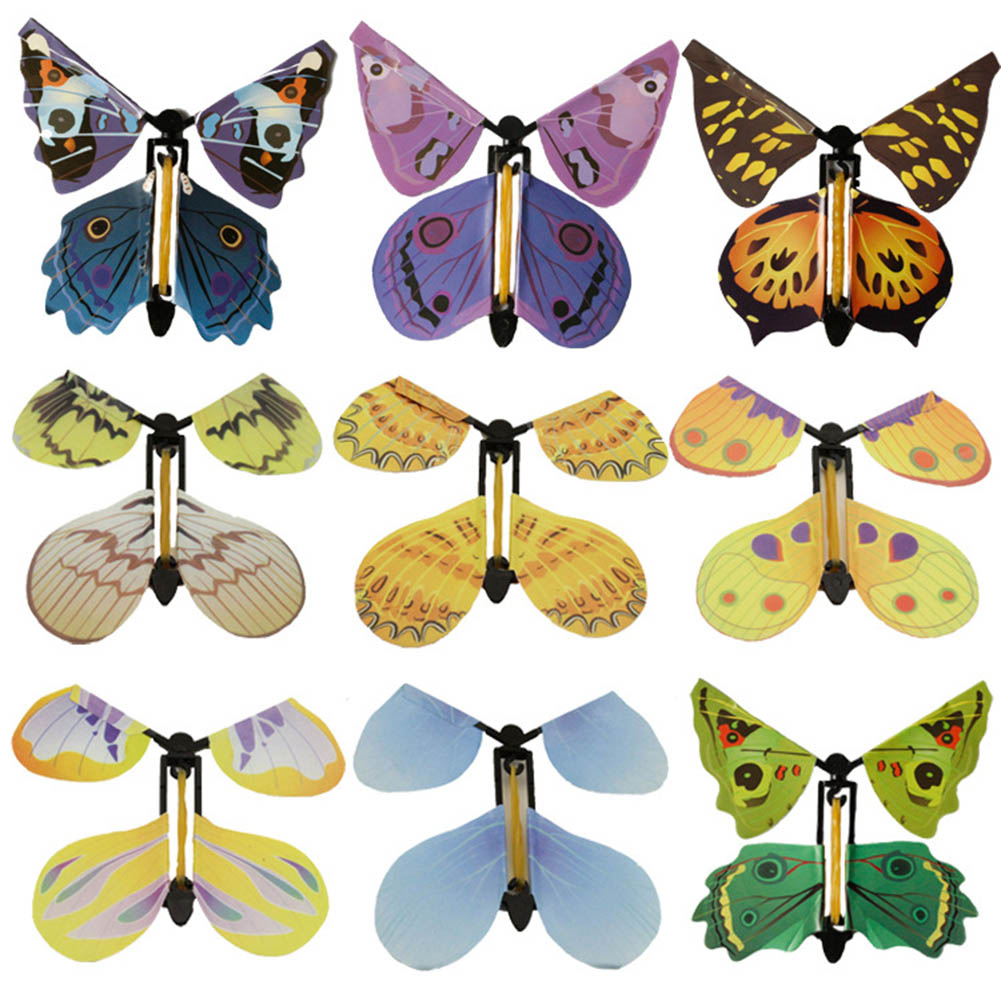 Magic Butterfly Flying Butterfly Hand Transformation Fly Butterfly Magic Props Surprise Prank Joke Mystical Trick Toys