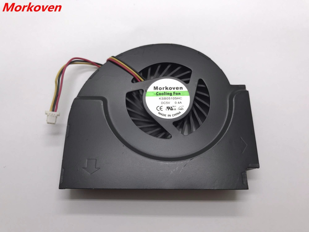 US $15 0 |new original laptop cpu cooling cooler fan for Lenovo IBM W510  T510 FAN notebook GC055010VH A 13 V1 B4160 F GN-in Fans & Cooling from