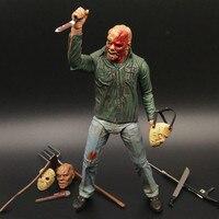Filme Uma Nova Dimensão em Terror uma Revisão de Sexta Feira 13ª Part3 3D Freddy Freddy Vs Jason Figura Figuras de Ação PVC