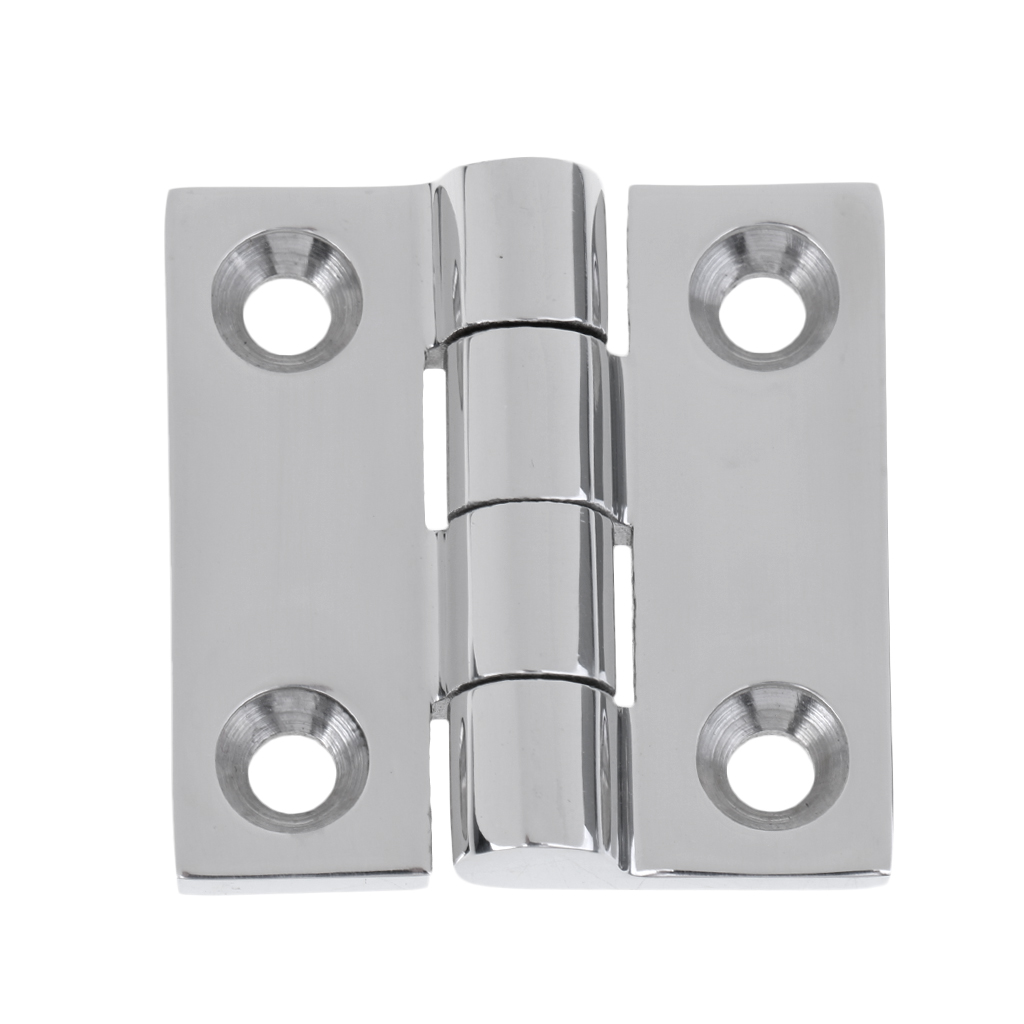 2019 New 316 Stainless Steel Boat Caravan RV Deck Cabinet Drawer Flush Door Strap Marine Hinge Boat Hinge Butt Hinge Hardware
