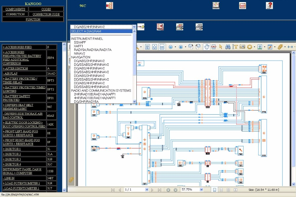 renault visu wiring diagram full pack in software from automobiles rh aliexpress com Simple Wiring Diagrams Basic Electrical Wiring Diagrams
