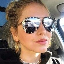 5dc0eb1c5a2 Italy Brand Designer Oversized Cat Eye Sunglasses Women Polarized Big Frame  Rivet Sun Glasses Female Eyewear Shadows UV400