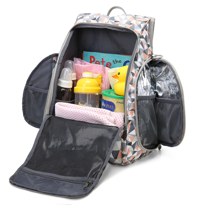 Mommore Mochila de pañales Bolsa de pañales para bebés - Pañales y entrenamiento para ir al baño - foto 5