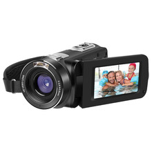 ORDRO Z8 PLUS 1080P Full HD Digital Video Camera 3.0 inch Touch Screen 24MP 16X Option Zoom CMOS Anti-Shake Camcorder