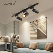 VISDANFO Traditional aluminum kitchen Dining Room  track lighting sportlight adjubed room indoor BedRoomLighting Fixtures