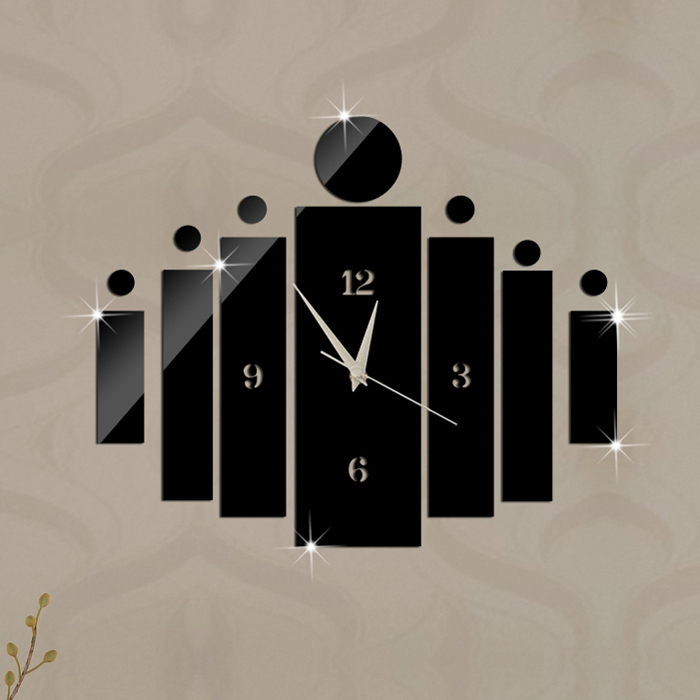 Detail Feedback Questions about Christmas Gift Mirror Wall Clock