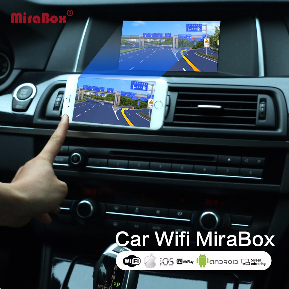 Voiture wifi Mirrorlink Box Support Youtube Mirroring pour iOS12 téléphone pour Android téléphone voiture Mirrorlink Box pour Miracst allshare