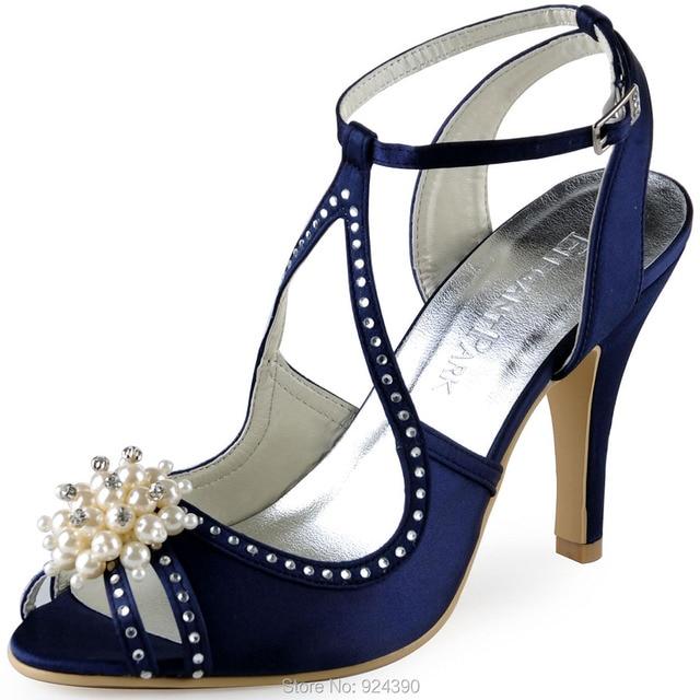 Escarpins de mariage Femme Elegantpark bleus ZqfjXO