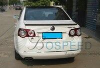 Apto para Volkswagen Sagitar modificado de fibra de carbono da asa traseira com spoiler traseiro asa