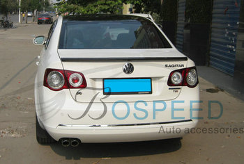 Fit for Volkswagen Sagitar modified carbon fiber rear wing with  rear spoiler wing