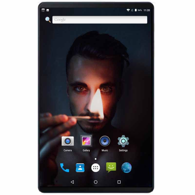 Google 10 inch Tablet Android 8.0 4GB RAM 64GB ROM Octa Core 6000mAh 1280X800 2.5D IPS Screen Dual SIM Cards 4G FDD LTE Pad 10.1(China)