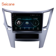 Seicane Radio Multimedia con GPS para coche, Radio con reproductor de vídeo, Android 8,1, compatible con Mirror Link, para Subaru Legacy Outback 2010 2011 2012 2014 2016