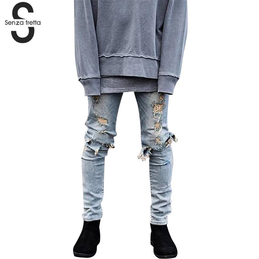 Compare Prices on Mens Destroyed Denim Jeans- Online Shopping/Buy ...