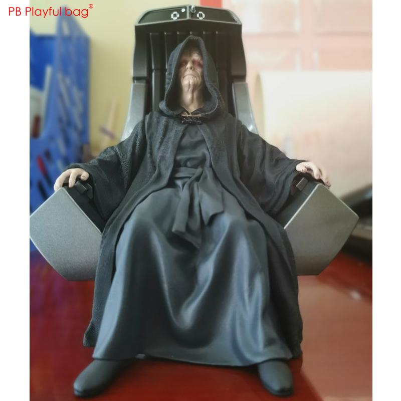 1/10 Star wars Sheev Palpatine figure PVC Model Action figure New Movie collections Best gifts send friend Model Doll Toys HC66 image