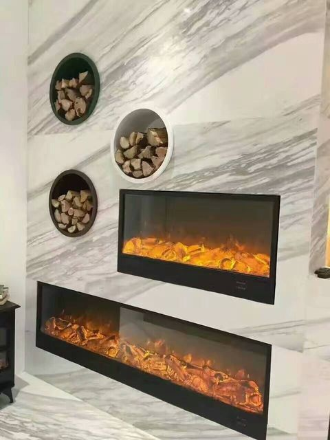 free shipping to vietnam cheap home heater electric fireplace with fake
