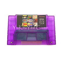 110 in 1 Video Game Compilations Console Card for 16 Bit Entertainment System English Language US NTSC Version