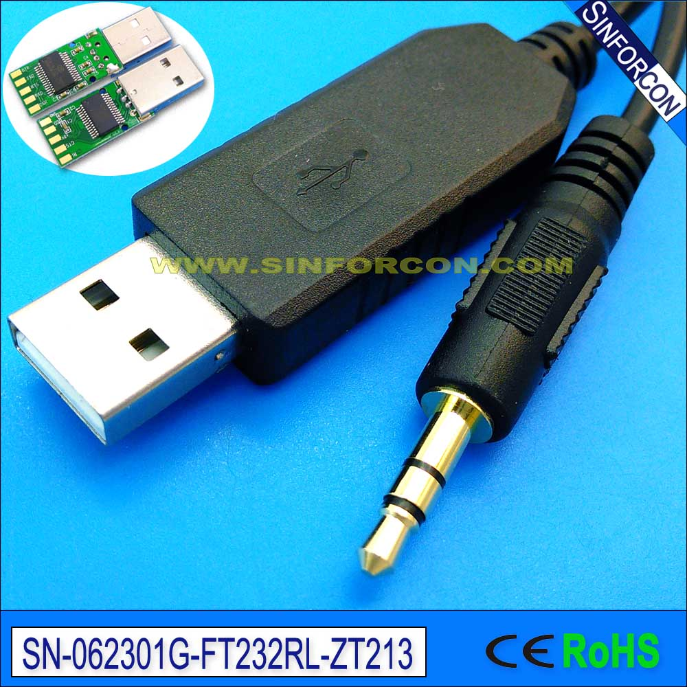 linux win8 10 ftdi ft232rl usb rs232 to 3.5mm jack galileo board serial console cable program cable