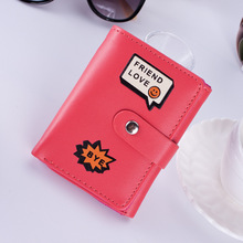 BOTUSI Women Leather Small Wallet Luxury Brand Mini Wallets Purses Female Short Coin Zipper Purse Credit Card Holder