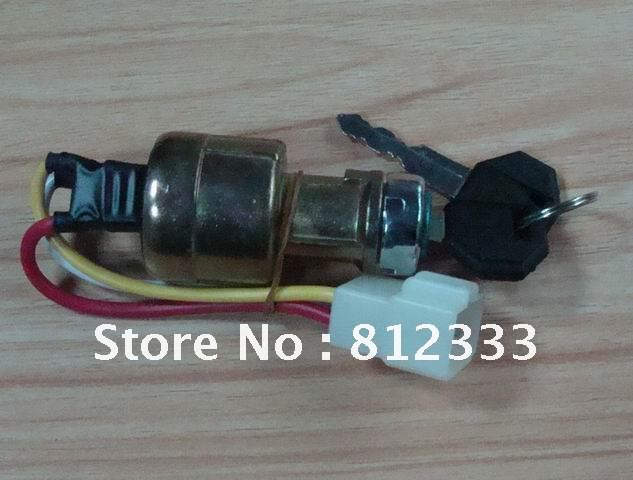 Jk 311a 3 Wire Key Switch Large Current Ignition Key Switch For Toyotaa Forklift Truck Stacker