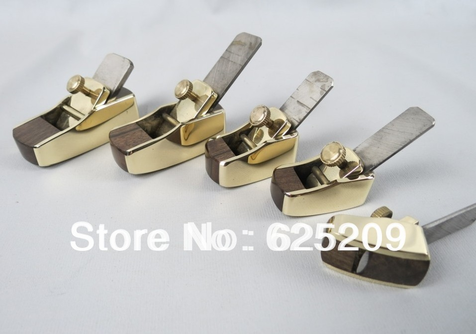 5pcs different convex bottom brass wrap blackwood planes,fine workmanship woodworkingluthier tools mini brass maple blackwood convex bottom planes 3 1 8 violin making woodworking tool luthiertools craft plane free shipping