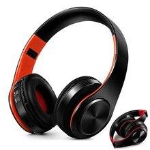 Cuffie Wireless pieghevoli cuffie Bluetooth auricolari Stereo regolabili con scheda TF Mic gioco MP3 per telefono cellulare