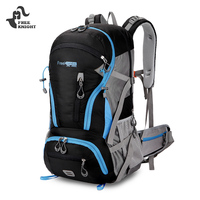 Free Knight Backpack 45L Water Resistant Climbing Hiking Backpack Men Women Outdoor Travel Trekking Sports Bag Hiking Rucksack