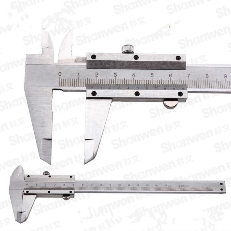 6 150 mm Ruler Sliding Gauge Vernier font b Caliper b font Jewelry Measuring Carbon Fiber