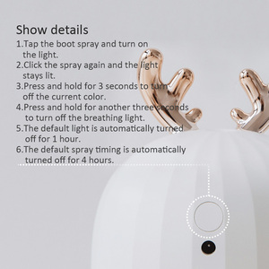 Image 3 - 220ml Aroma Essential Oil Diffuser Ultrasonic Air Humidifier Usb Fogger Mist Maker With Led Night Lamp For Home Car