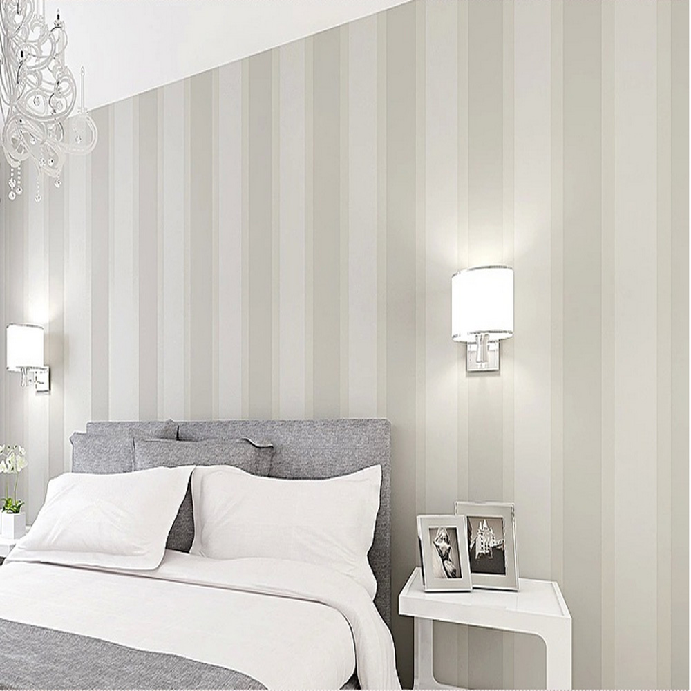 Q QIHANG High Texture Modern Minimalist Multicolor striped Non woven  Wallpaper 0.53m*10m=5.3m2-in Wallpapers from Home Improvement on  Aliexpress.com ...