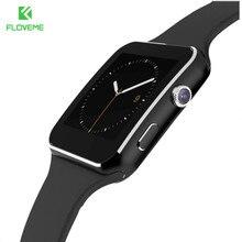 FLOVEME Smart Watch E6 For Xiaomi Samsung Huawei Android Sport Smartwatch Camera Bluetooth SIM Card Smart Watch 2017 Accessories